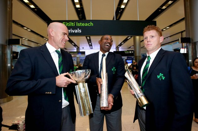 trent-johnston-phil-simmons-and-kevin-obrien-ireland-cricket